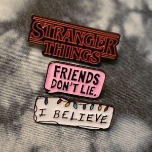 3 Piece Stranger Things I Believe Pin Bundle Pins